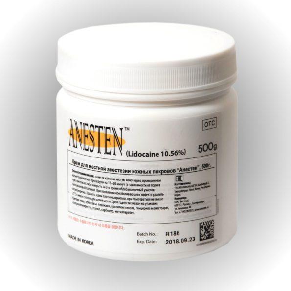 Крем для анестезии Anesten 500 гр 1 шт