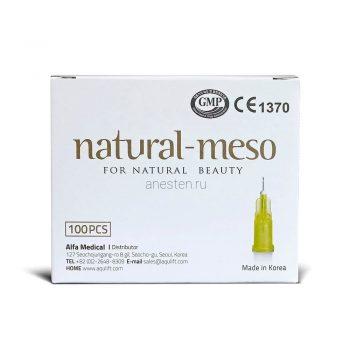 Иглы для мезотерапии Natural-meso